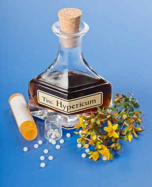 Hypericum homeopathic pills