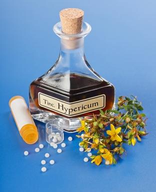 Hypericum homeopathic pills